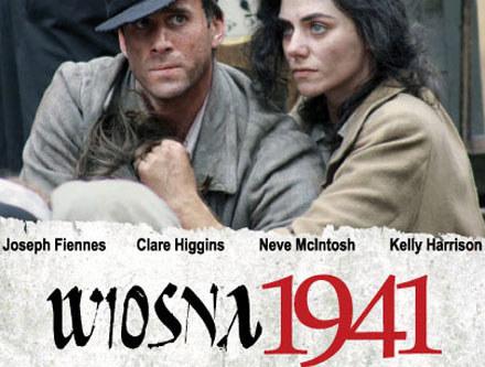 """Główne role w """"Wiośnie 1941"""" zagrali Joseph Fiennes i Neve McIntosh /materiały dystrybutora"""