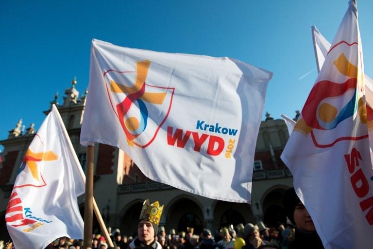 Główne wydarzenia Światowych Dni Młodzieży odbędą się pod koniec lipca 2016 roku w Krakowie i Wieliczce /BARTOSZ SIEDLIK / AFP /AFP