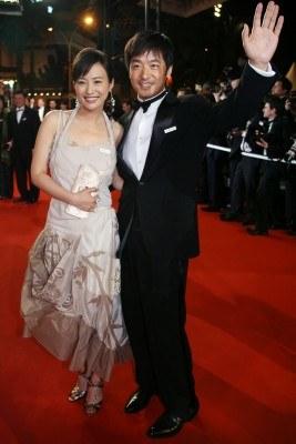 """Główni aktorzy """"Pałacu letniego"""": Guo Xiaodong i Hao Lei /AFP"""