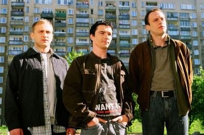 """Główni bohaterowie komedii """"JOB"""" (pierwszy od lewej Borys Szyc) - fot. Artur Sienicki /"""