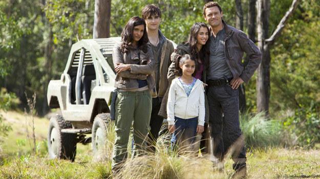 """Główni bohaterowie serialu """"Terra Nova"""", czyli rodzina Shannonów /materiały prasowe"""