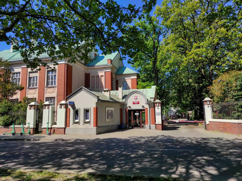 Główny budynek  Państwowej Wyższej Szkoły Filmowej, Telewizyjnej i Teatralnej im. Leona Schillera /East News