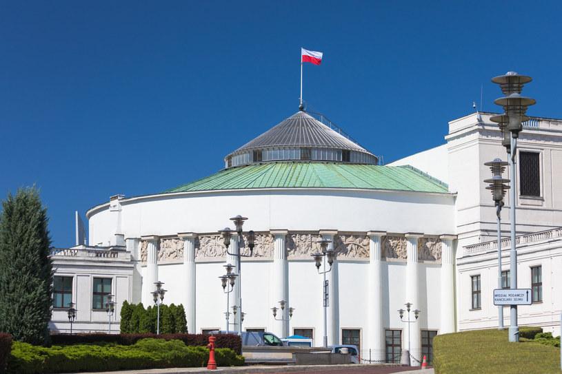 Główny budynek Sejmu. Fot Arkadiusz Ziółek /Agencja SE/East News