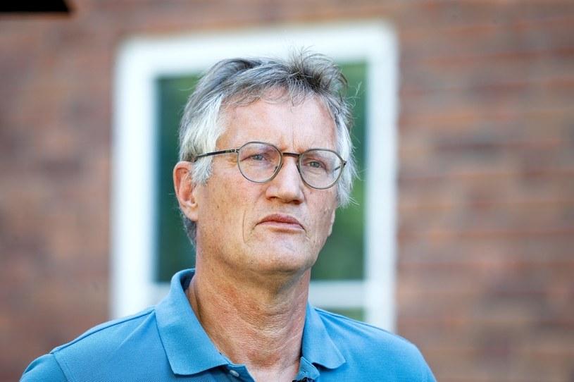 Główny epidemiolog Szwecji Anders Tegnell /MAGNUS ANDERSSON / TT NEWS AGENCY /AFP