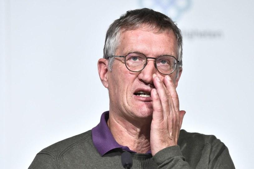 Główny epidemiolog Szwecji Anders Tegnell /AFP