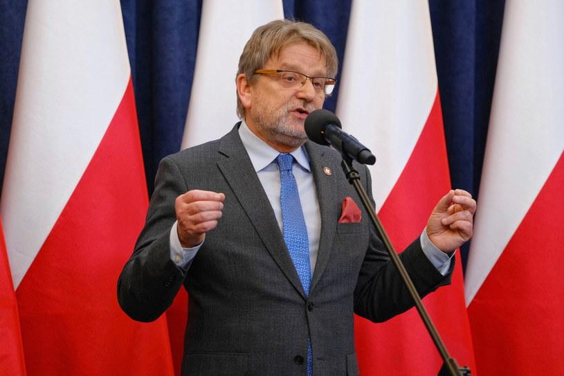 Główny Inspektor Sanitarny Jarosław Pinkas /Mateusz Marek /PAP