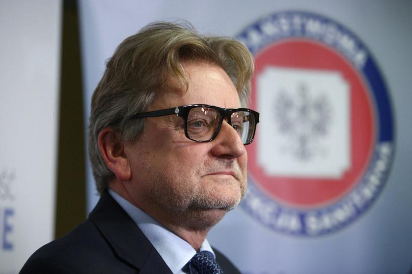 Główny inspektor sanitarny Jarosław Pinkas /Michal Dyjuk /Agencja FORUM
