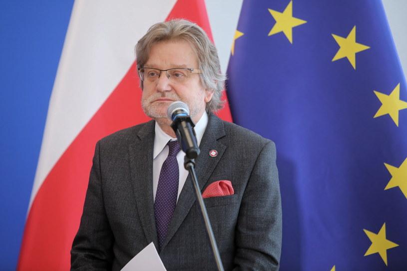 Główny Inspektor Sanitarny kraju Jarosław Pinkas /Wojciech Olkuśnik /PAP