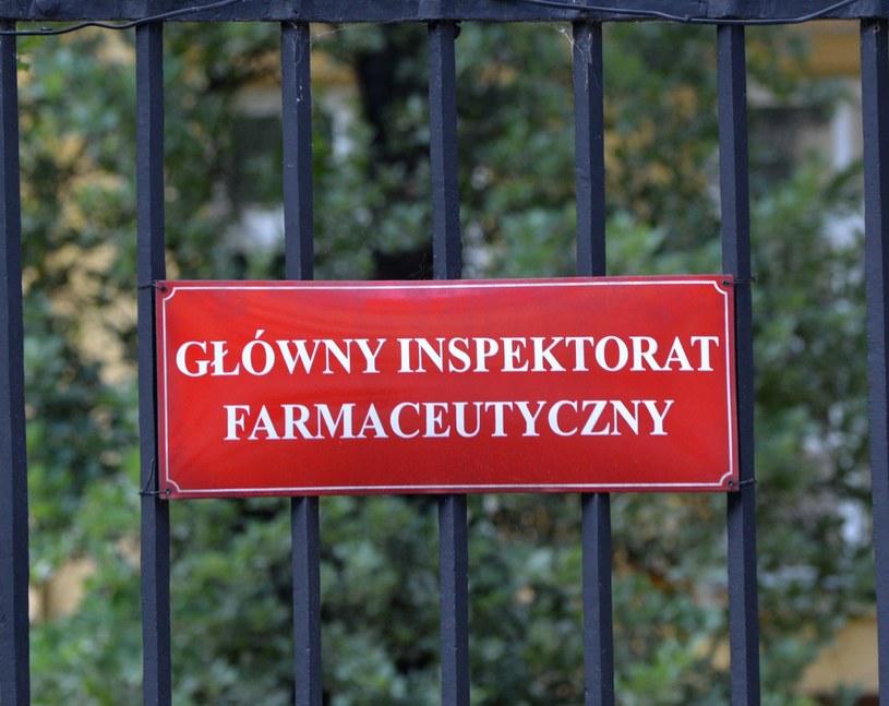 Główny Inspektorat Farmaceutyczny; zdj. ilustracyjne /Wlodzimierz Wasyluk /East News