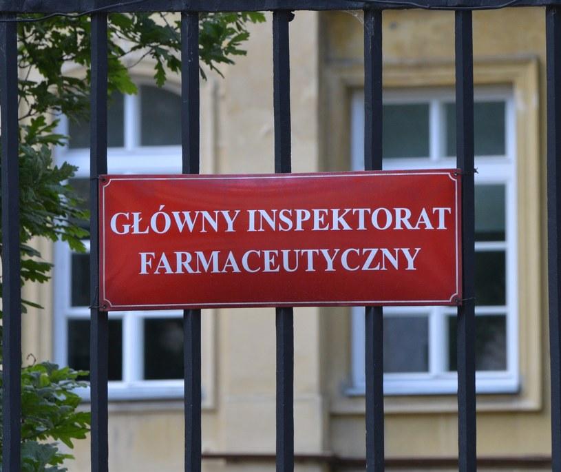 Główny Inspektorat Farmaceutyczny /Wlodzimierz Wasyluk /East News