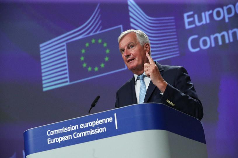 Główny negocjator UE ds. brexitu Michel Barnier /Yves Herman /AFP