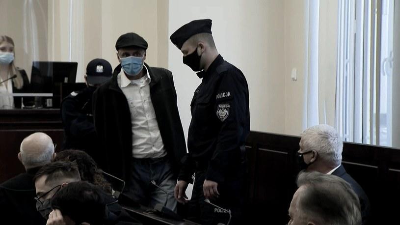 Główny oskarżony Robert Majcher został uznany winnym zabójstwa i skazany na 25 lat więzienia /Interwencja  /Polsat News