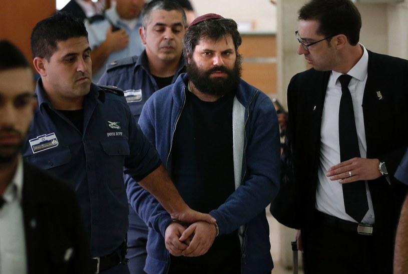 Główny podejrzany o spalenie Palestyńczyka uznany za winnego /AFP