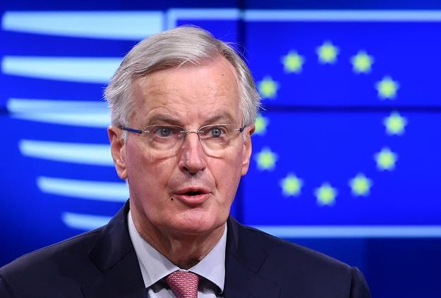 Główny unijny negocjator Michel Barnier /PAP