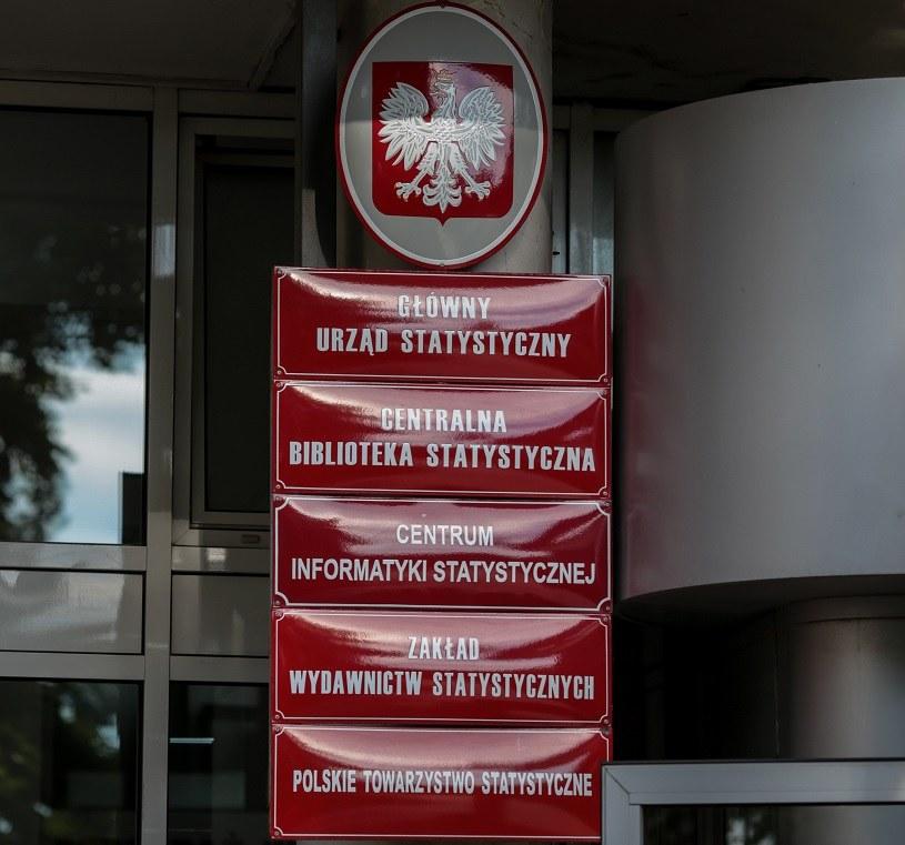 Główny Urząd Statystyczny /Marek Wiśniewski /Agencja FORUM