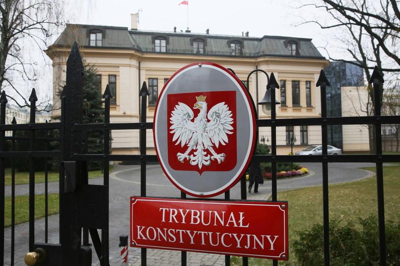Gmach Trybunału Konstytucyjnego w Warszawie /Tomasz Gzell   (PAP) /PAP