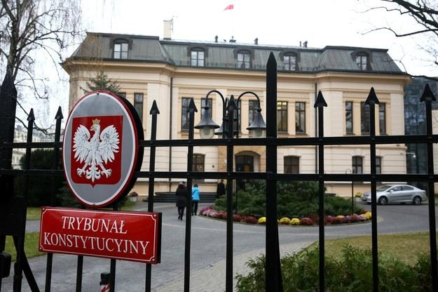 Gmach Trybunału Konstytucyjnego / Tomasz Gzell    /PAP