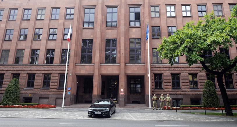 Gmachy Ministerstwa Spraw Zagranicznych na ulicy Szucha; zdj. ilustracyjne /Jan Bielecki /East News