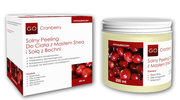 GoCranberry: Solny Peeling Do Ciała z Masłem Shea i Solą z Bochni