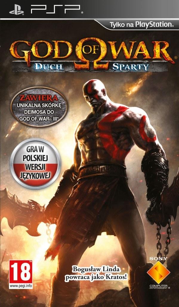 God of War: Duch Sparty - polska okładka gry /Informacja prasowa