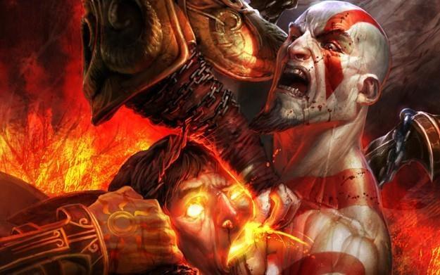 God of War - motyw graficzny /Informacja prasowa