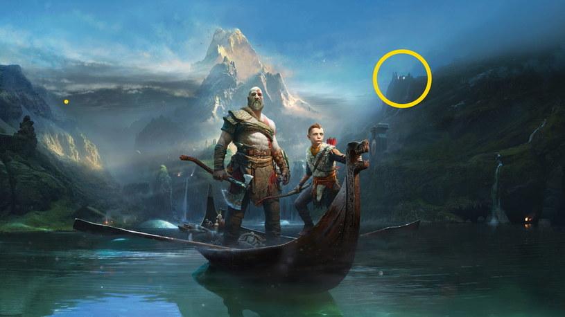 God of War: W tle zaznaczona poszukiwana miejscówka /materiały prasowe
