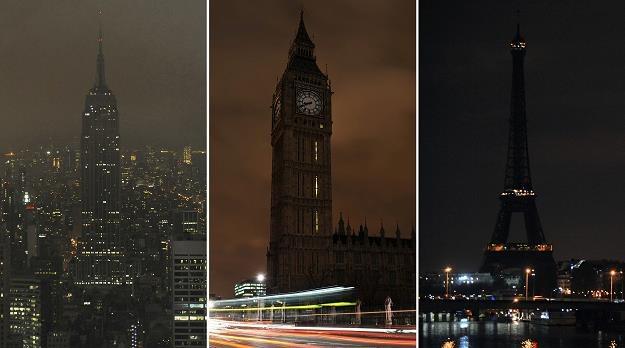 Godzina dla Ziemi jest coroczną akcją /AFP