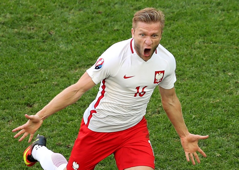 Gol Jakuba Błaszczykowskiego dał nam zwycięstwo w meczu z Ukrainą /PAP/EPA