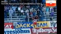 Gol Mirosława Trzeciaka w meczu Polska - Szwecja (2-0) z 1991 r. Wideo