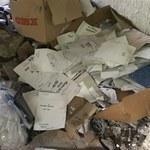 Gołaszew: Firma, która paliła akta, zgłosiła się na policję