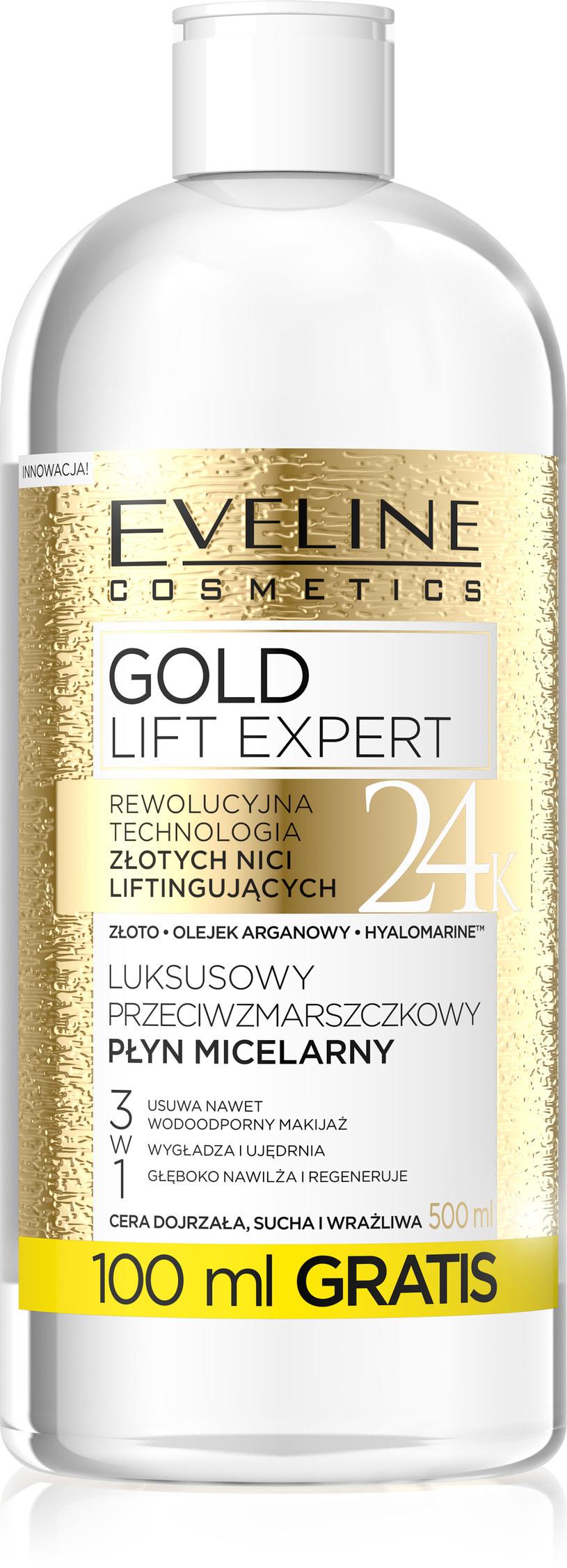 Gold Lift Expert Eveline Cosmetics /INTERIA.PL/materiały prasowe