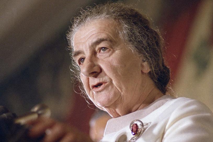 Golda Meir piastowała typowo męskie funkcje /- /East News