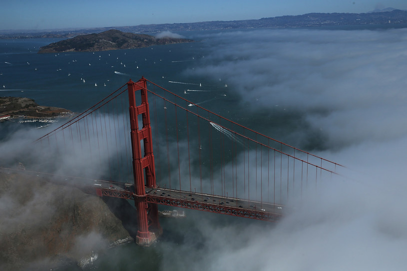 Golden Gate we mgle /AFP