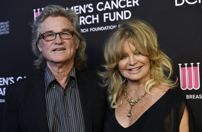 Goldie Hawn i Kurt Russell tworzą udany związek /Invision /East News
