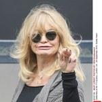 Goldie Hawn z dziwnymi plamami na rękach!