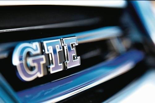 Golf GTE – sportowa hybryda /Volkswagen