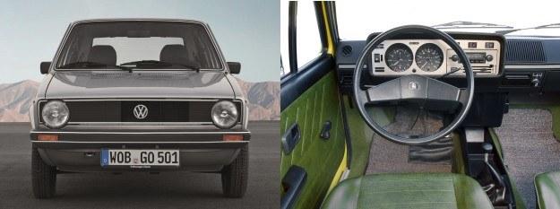Golf I (1974-1984): silniki benzynowe 1,1-1,8 l (50-112 KM), silniki Diesla 1,5-1,6 l (50-70 KM) /Volkswagen