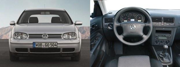 Golf IV (1997-2003): silniki benzynowe 1,4-3,2 l (75-241 KM), silniki Diesla 1,9 l (68-150 KM) /Volkswagen