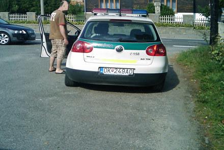 Golf słowackiej policji /INTERIA.PL