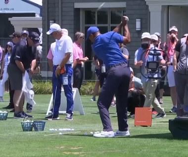 Golf. Tiger Woods poważnie ranny w wypadku samochodowym! Wideo