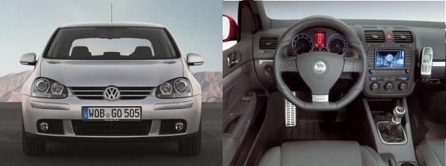 Golf V (2003-2009): silniki benzynowe 1,4-3,2 l (75-250 KM), silniki Diesla 1,9-2,0 l (90-170 KM) /Volkswagen