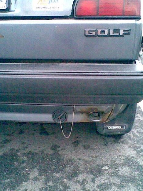 Golf z LPG - wanna czy spłuczka?