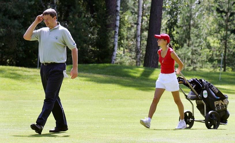 Golfista Jewgienij Kafielnikow /AFP