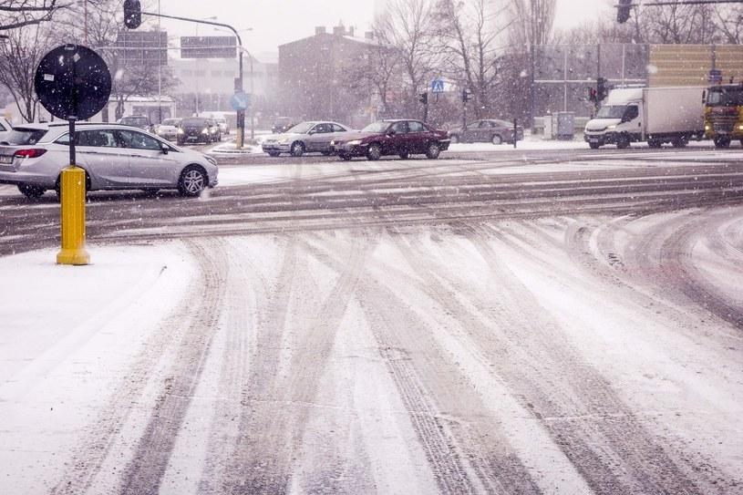 Gołoledź może spowodować trudne warunki na drogach /Piotr Kamionka /Reporter