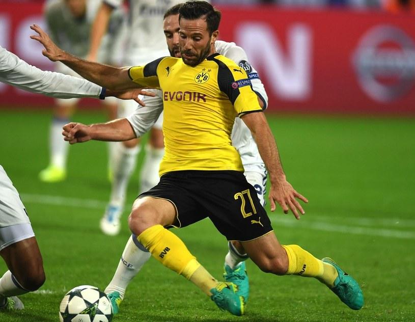Gonzalo Castro, pomocnik Borussii Dortmund /AFP