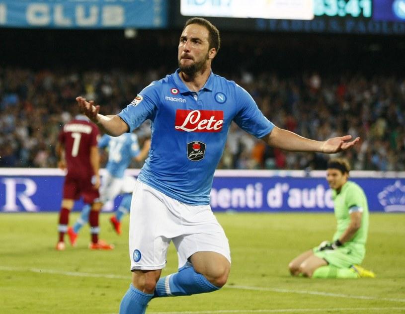Gonzalo Higuain, gwiazda Napoli /AFP