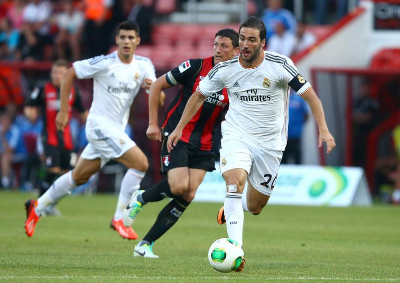 Gonzalo Higuain jeszcze w barwach Realu /Jan Kruger /Getty Images