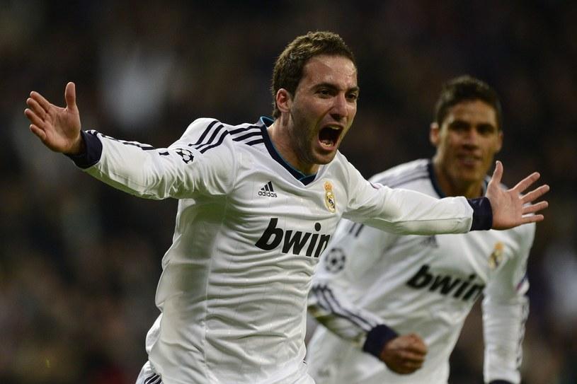 Gonzalo Higuain strzelił dla Realu 105 goli /AFP