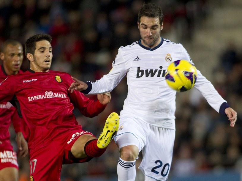 Gonzalo Higuain w meczu z Mallorką /AFP