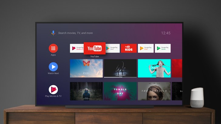 Google aktualizuje Android TV /materiały prasowe
